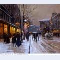 Boulevard de la madeleine winter 1