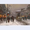 Boulevard de la madeleine winter 2