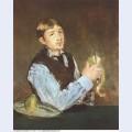 A young man peeling a pear portrait of leon leenhoff 1868
