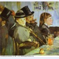 At the cafe 1878