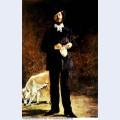 Portrait of gilbert marcellin desboutin 1875