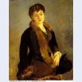 Portrait of mademoiselle isabelle lemonnier