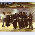 The execution of the emperor maximilian of mexico 1868