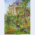 The garden at bellevue 1880