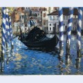 The grand canal of venice blue venice 1874