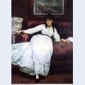 The rest portrait of berthe morisot 1870