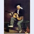 The spanish singer 1860