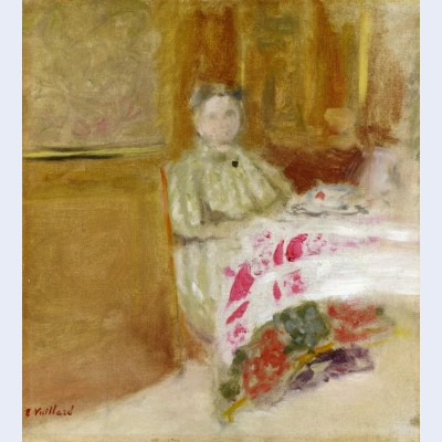Madame vuillard at table 2