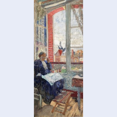 Madame vuillard at the hotel