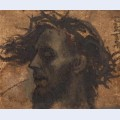 Study for the head of christ in a crucifixion