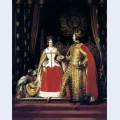 Queen victoria and prince albert at the bal costume