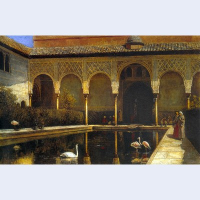 A court in the alhambra