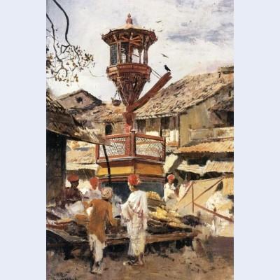Birdhouse and market ahmedabad india