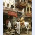 Street scene in india 2