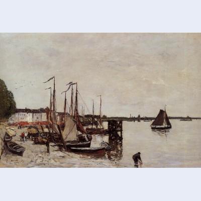 Antwerp fishing boats