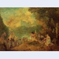 The pilgrimage to cythera after watteau