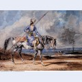 A turkish man on a grey horse 1