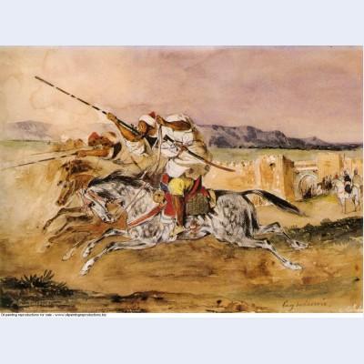 Arab fantasia 1832 1