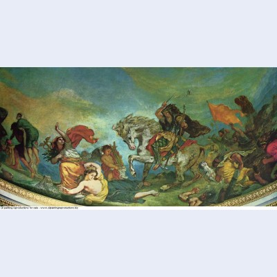 Attila and his hordes overrun italy and the arts 1847 1