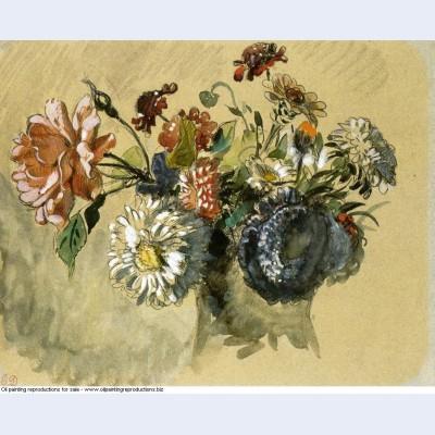 Bouquet of flowers 1843 1