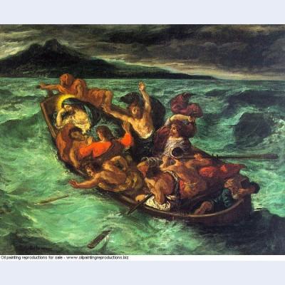 Christ on the lake of gennezaret 1854 1