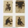 Four views of men sitting 1838 1