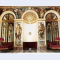 Frescoes on the west wall 1837 1
