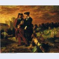 Hamlet and horatio in the cemetery 1839 1