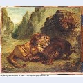 Lion and boar 1853 2