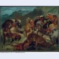 Lion hunt 1858 1