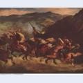 Moroccan fantasia 1847 1