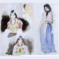 Moroccan women 1832 1