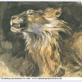 Roaring lion s head 1