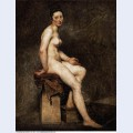 Seated nude mademoiselle rose 1824 1