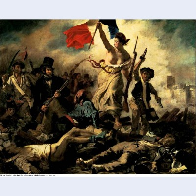 The liberty leading the people 1830