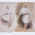 Two views of a young arab 1832 1