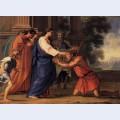 Christ healing the blind man