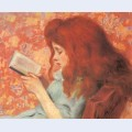Young girl reading 2