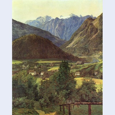 Dachstein from the place of sophie