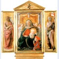 Madonna of humility with angels and donor