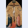 Crucifixion with the virgin john the evangelist and mary magdelene