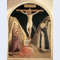 Crucifixion with the virgin mary magdalene and st dominic