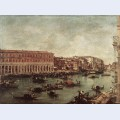 The grand canal at the fish market pescheria