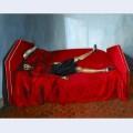 Le lit rouge