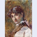 Portrait of a lady probably do a isabel oller the artist s sister