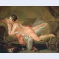 Nude on a sofa