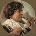 Drinking boy taste