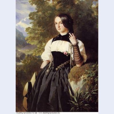 A swiss girl from interlaken