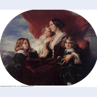 Elzbieta branicka countess krasinka and her children