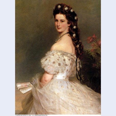 Empress elisabeth of austria in dancing dress